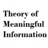 Theory of meaningful information