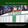 Masters golf trip 2018
